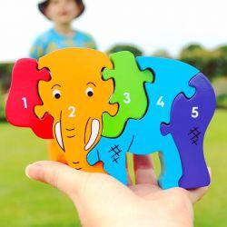 Puzzle éléphant 1-5
