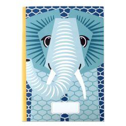 Cahier FSC motif Eléphant