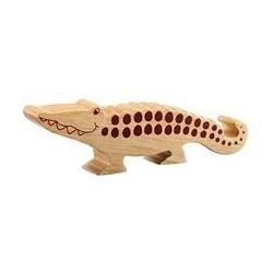 Crocodile bois massif