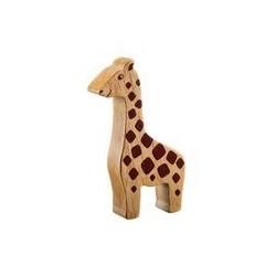Girafe bois massif