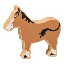 Paard - Massief hout beeltje