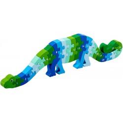 Dinosaurus puzzel 1-25