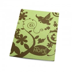 """Faith hope love"" inademing kaart"