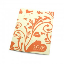 """Love blooms"" carte inspiration"