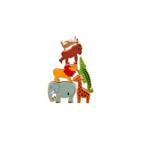 Animaux de la jungle (sac de 6)