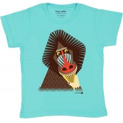T-shirt enfant manches courtes Mandrille