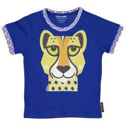 Kind T-shirt korte mouwen Luipaard