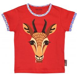 Kind T-shirt korte mouwen Gazelle