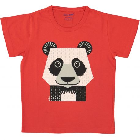 Kind T-shirt korte mouwen Panda