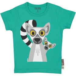 T-shirt enfant manches courtes Lémurien