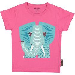 T-shirt enfant manches courtes Eléphant