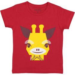 T-shirt enfant manches courtes Girafe