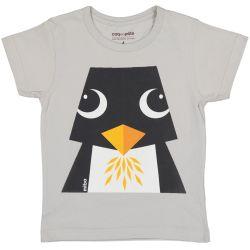 Kind T-shirt korte mouwen Pinguïn