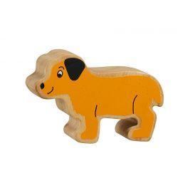 Puppy - Massief hout beeltje