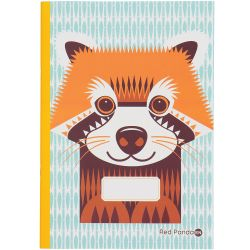 Cahier FSC motif Panda roux