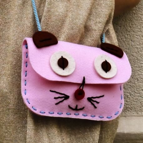 kit couture sac chat