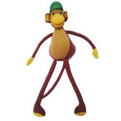Tom le singe (brun) 30 cm