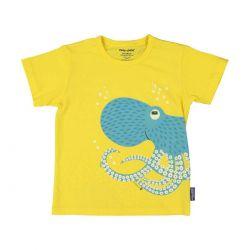 T-shirt enfant manches courtes Poulpe