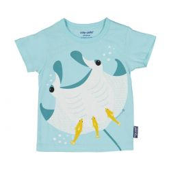 T-shirt enfant manches courtes Raie Manta