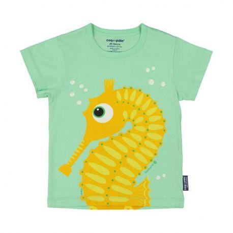 Kind T-shirt korte mouwen Zeepaardje