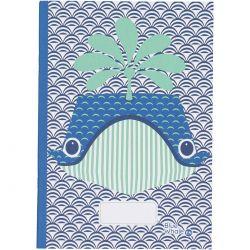 Cahier FSC motif Baleine