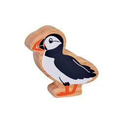 Papegaai duiker geschilderd natuurlijk hout