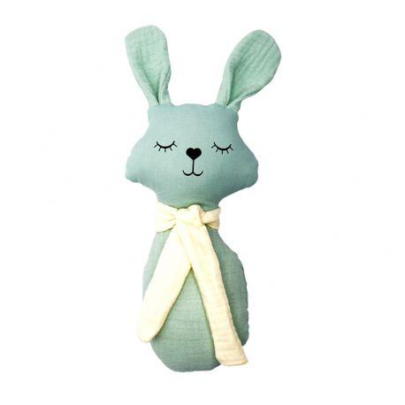 Haakratel konijn bio