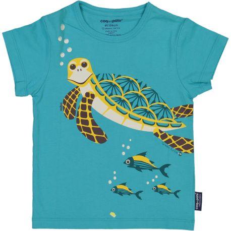 T-shirt enfant manches courtes Tortue