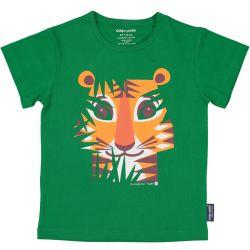 T-shirt enfant manches courtes Tigre