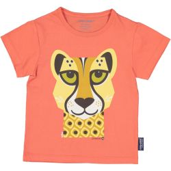 Kind T-shirt korte mouwen Cheetah