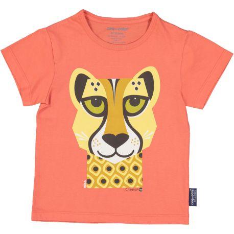 Kind T-shirt korte mouwen Cheetah