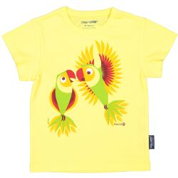 Kind T-shirt korte mouwen Papagaai