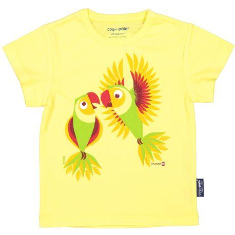 T-shirt enfant manches courtes Perruche
