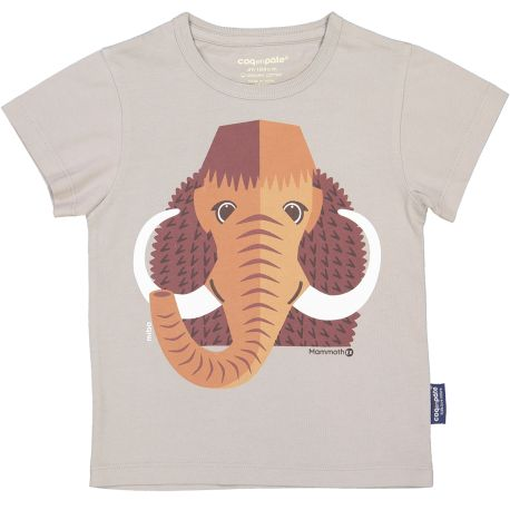 T-shirt enfant manches courtes Mammouth