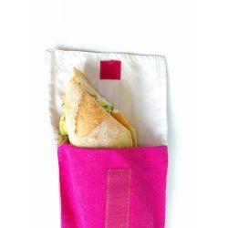 Poche sandwich 15 x 25 cm coton + rPET