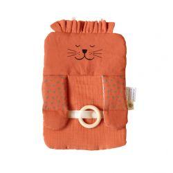 Jeu d'éveil en coton bio GOTS - Lion