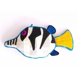 Coussin Poisson Sharpnosed Puffer