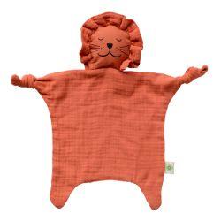 Doudou lion coton bio GOTS