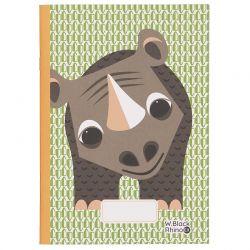 Cahier FSC motif Rhinocéros
