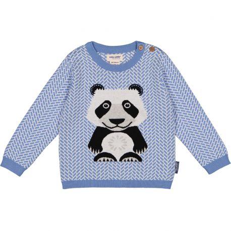 Pull tricot Panda