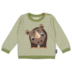 Pull tricot Rhinocéros