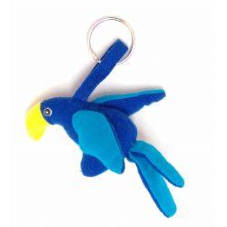 Porte-clés perroquet