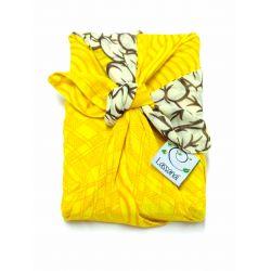 Furoshiki in gerecycleerde sari (cadeauverpakking) 50 cm
