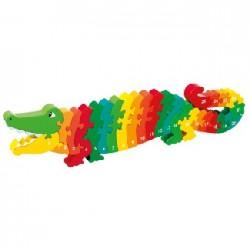 Puzzle crocodile 1-25