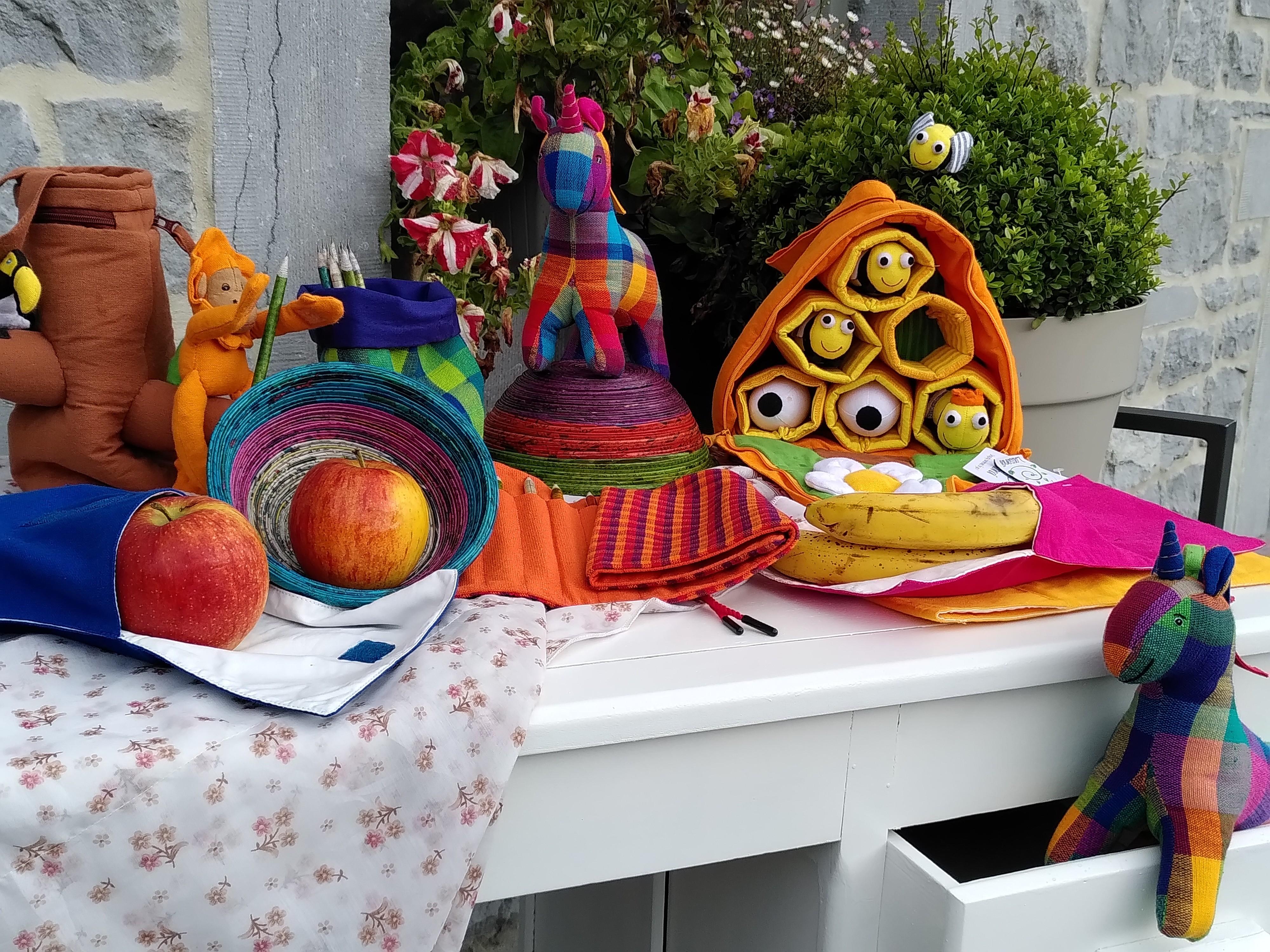 handgemaakt katoenspeelgoed